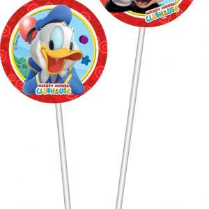 Καλαμάκια με φιγούρες Playful Mickey 6τεμ.