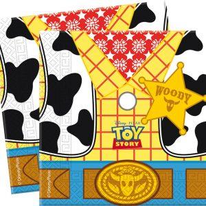 Χαρτοπετσέτες φαγητού 33x33εκ. Toy Story STAR POWER 20τεμ.