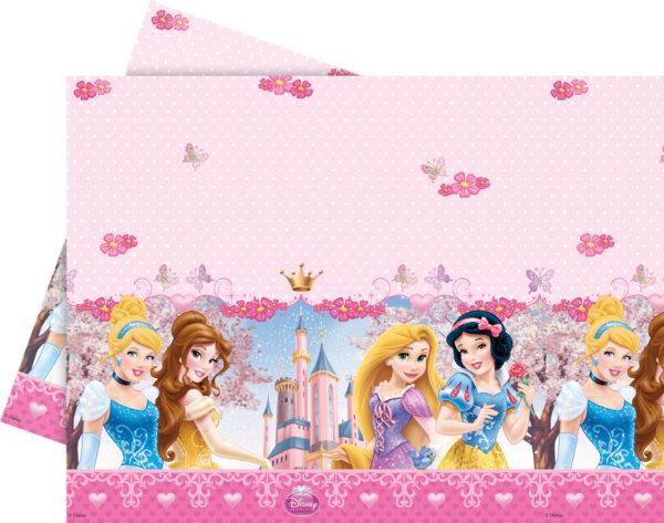 Τραπεζομάντηλο πλαστικό 120x180εκ. Disney Princess Glamour 1τεμ.