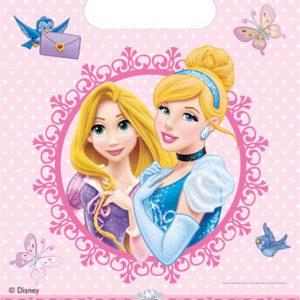 Τσάντες δώρων Disney Princess Glamour 6τεμ.