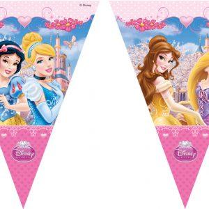 Τρίγωνες γιρλάντες Disney Princess Glamour 1τεμ.