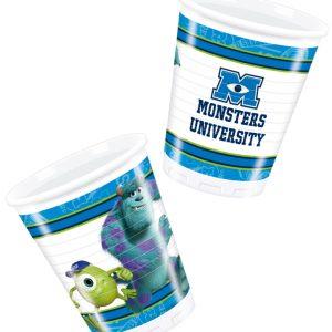 Ποτήρια 266ml Monsters University 8τεμ.