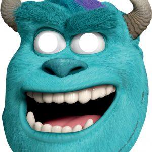 Χάρτινες μάσκες Monsters University 6τεμ.