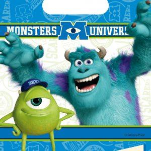 Τσάντες Δώρων Monsters University 6τεμ.