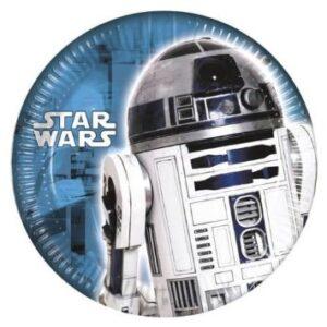 Πιάτα Γλυκού Star Wars Classic 8τεμ. 20εκ.