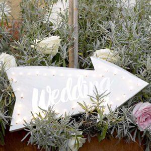 Φωτεινή Πινακίδα Wedding