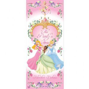 Διακοσμητικό Πόρτας Disney Princess Glamour 1τεμ.