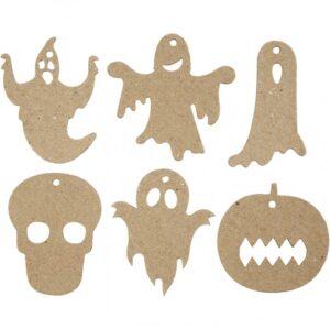 """Papier Mache Διακοσμητικά """"Halloween"""""""
