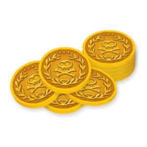 Χρυσά Νομίσματα DISNEY Τζέικ & Πειρατές 40τεμ.