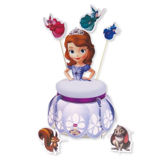 Βάση για τούρτα Πριγκίπισσα ΣΟΦΙΑ με διάμετρο 16εκ.
