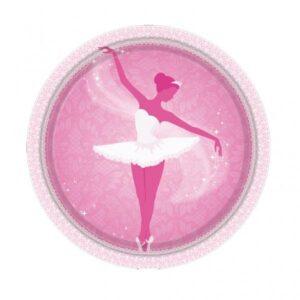 Πιάτα γλυκού 18εκ. Ballet 8τεμ.