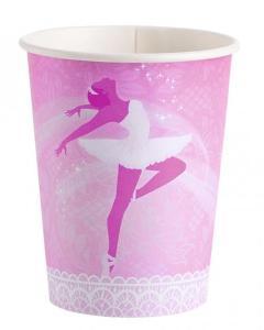 Ποτήρι χάρτινο 266ml Ballet 8τεμ.
