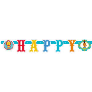"Banner ""Happy Birthday"" Fisher-Price 180εκ."