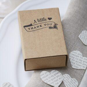 Κουτί Δώρου A Little Thank you