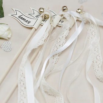 Wedding Wands λευκά