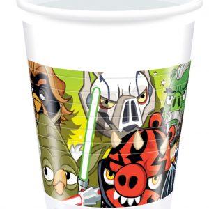 Ποτήρια Angry Birds STAR WARS 8τεμ.