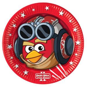Πιάτα φαγητού 23εκ. Angry Birds STAR WARS 8τεμ.