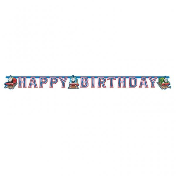 Banner Happy Birthday Τόμας το τρενάκι 1,8m