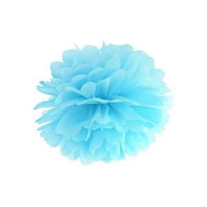 Fluffy pom pom sky blue 25εκ. 1τεμ.