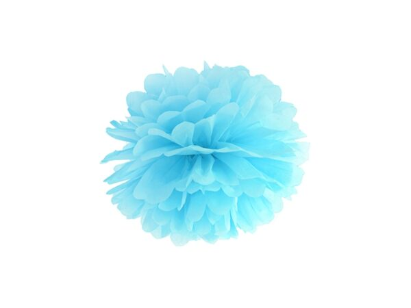 Fluffy pom pom sky blue 35εκ. 1τεμ.
