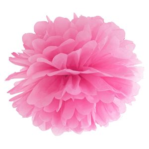 Fluffy pom pom hot pink 35εκ. 1τεμ.