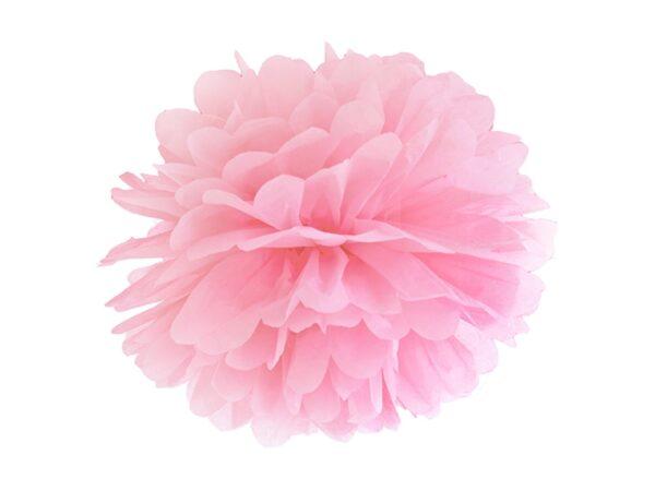 Fluffy pom pom light pink 25εκ. 1τεμ.