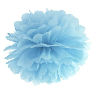 Fluffy pom pom light misty blue 25εκ. 1τεμ.