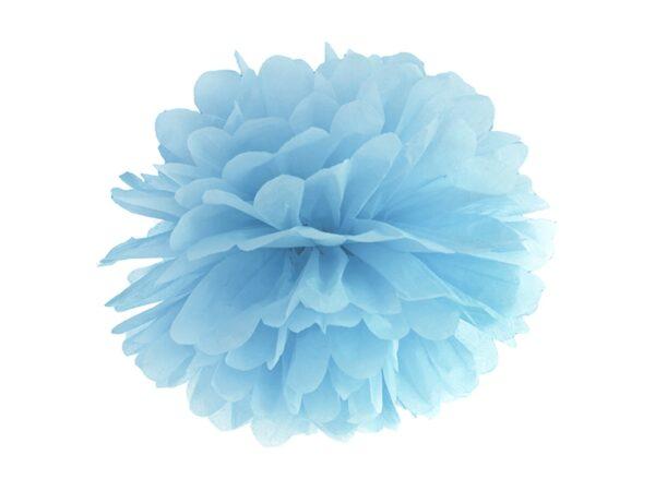 Fluffy pom pom light misty blue 25εκ. 1τεμ.