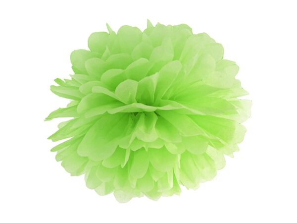 Fluffy pom pom green apple 35εκ. 1τεμ.