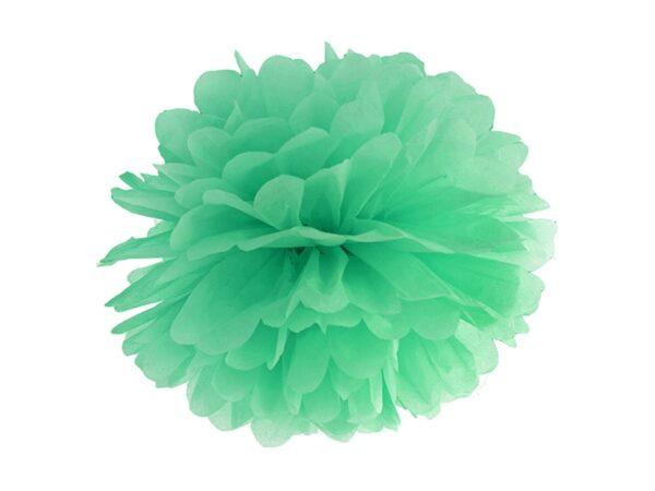 Fluffy pom pom green mint 25εκ. 1τεμ.