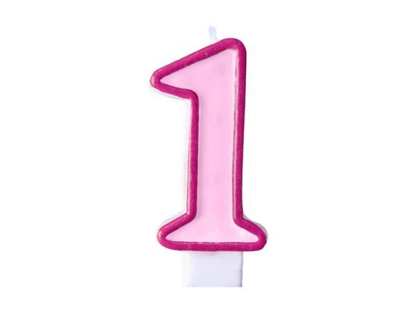 Κερί ροζ Νο 1