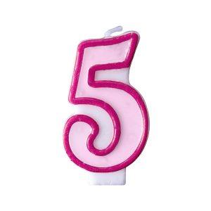 Κερί ροζ Νο 5