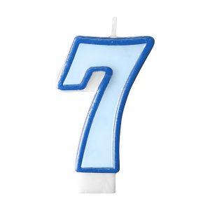 Κερί γαλάζιο Νο 7