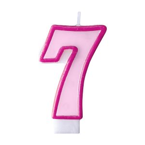 Κερί ροζ Νο 7