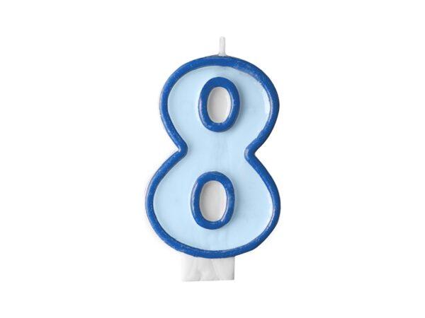 Κερί γαλάζιο Νο 8
