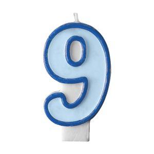 Κερί γαλάζιο Νο 9