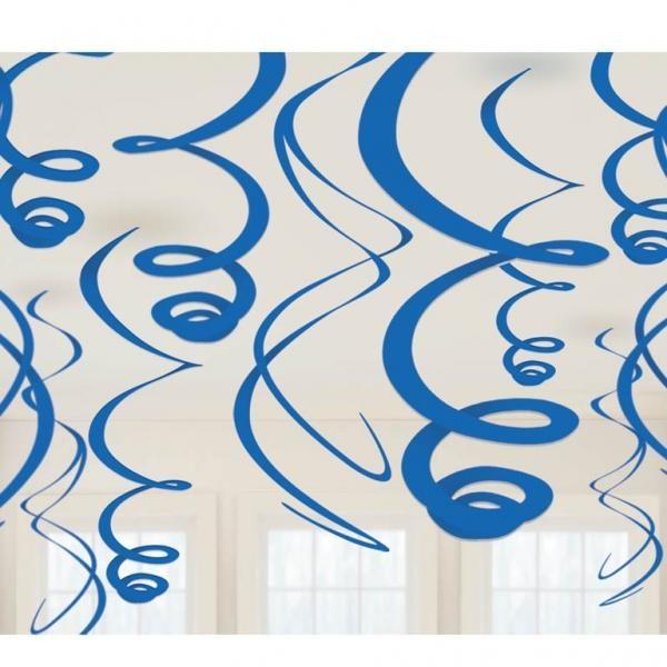 Διακοσμητικό Οροφής Σπιράλ  Μπλε
