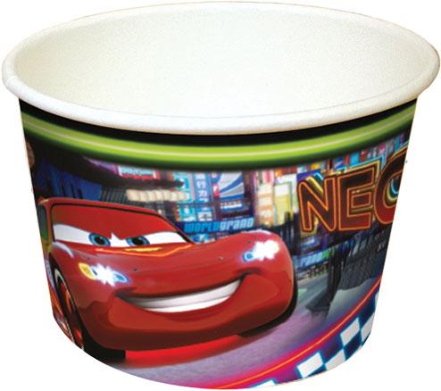 Κυπελάκια παγωτού Disney Cars Neon 8τεμ. 200ml