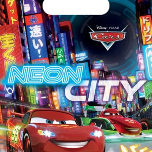 Τσάντες δώρων Cars Neon 6τεμ.