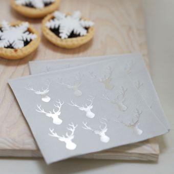 Χαρτοπετσέτες Christmas Metallics 23Χ23εκ. 20τεμ.