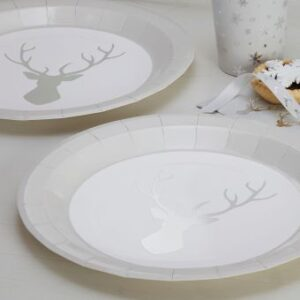 Πιάτα Φαγητού Christmas Metallics