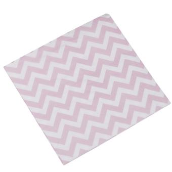 Χαρτοπετσέτες Γλυκού Chevron Divine  Pink 20τεμ.
