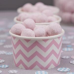 Κύπελο Παγωτού Chevron Divine Pink 8τεμ.