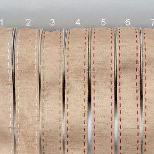 Κορδέλα οικολογική ούγια γαζί 25mm ρολό 10m
