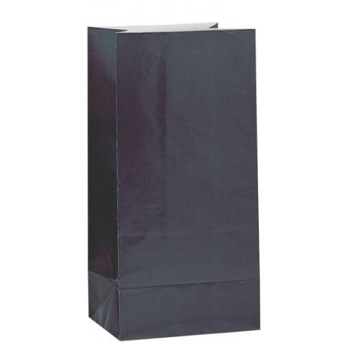c2da05a471b Χάρτινες σακούλες για πάρτυ 12τεμ. Μαύρες | Craftbox.gr