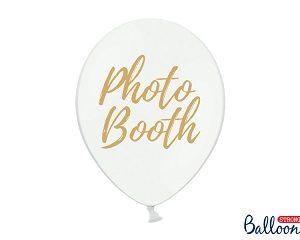 Μπαλόνι Λευκό με Χρυσό
