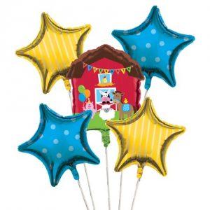 Σύνθεση Foil Μπαλονιών  Farmhouse Fun 5τεμ