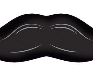 Mπαλόνι Foil Mustache Μadness 1τεμ