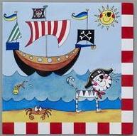 Χαρτοπετσέτες 33 Χ 33εκ. Μικρός Πειρατής 20τεμ.