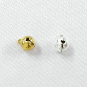 Κουδουνάκι Χρυσό ή Ασημένιο Μεσαίο 1τεμ.